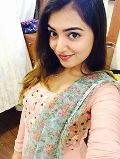 Nazriya Nazim (aka) Actress Nazriya photos stills & images Indian Celebrities, Beautiful Celebrities, Beautiful Actresses, Nazriya Nazim, Indian Bridal Sarees, Party Wear Kurtis, Salwar Designs, Down South, Girls Dpz