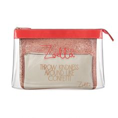 Time to get organised and put your beauty house in order.  Zoella Beauty We Three Beauties Cosmetic Purse Collection is a gorgeous collection of 3 handy cosmetic purses that are...
