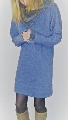 """Ja hoor, er bestaat een sweaterkleedpatroon voor vrouwen. Je neemt de instructies van het meisjessweaterkleedje en vult je eigen maatjes in! Ik deed het je hier even voor met de alpenfleece stof. Voor de kraag en de mouwboord gebruikte ik de binnenkant van de stof als goede kant. ( zaaaalig warm!!) De kraag is een kleine variant … """"sweaterkleedje vrouwen – how to?"""" verder lezen"""
