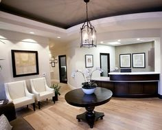 Front office lobby