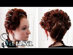 Game of Thrones Hair - Sansa Stark King's Landing (All GoT Hair Tutorials)