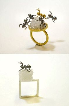 TheCarrotbox.com modern jewellery blog : obsessed with rings // feed your fingers!: Ai Yano / Kirsten Wittstruck