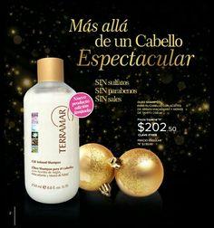 Nuevo Shampoo con tres semillas naturales que te ayudan a mejorar el aspecto de tu cabello y mejorar su condición