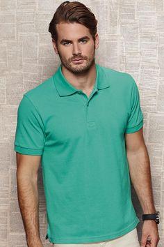 Tricou polo de bărbat Henry Stars by Stedman din 100% bumbac pieptănat ringspu #tricouri #polo #personalizate #brodate #promotionale