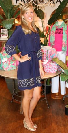 Lilly Pulitzer Perla Dress-- love this dress!