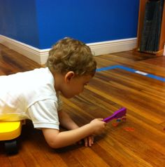 Great for bilateral coordination, arm & shoulder strength, and core strength. My son loves this!