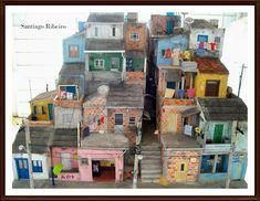 Casa do Imaginário : Nova Maquete de Favela