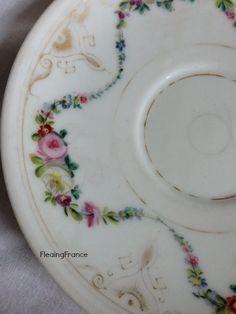 FleaingFrance......Marie Antoinette Colored Porcelain Dish