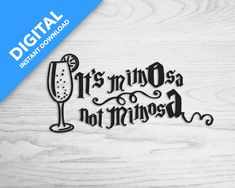 It's MomOsa not MimosA    Digital Download Make Your Own Stickers, Mega Pack, T Shirt Photo, Friends In Love, No Response, To My Daughter, Cricut, How To Get, Digital