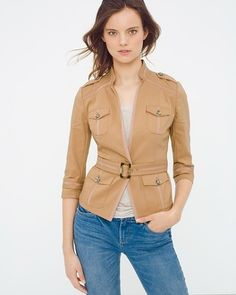 cute jacket. Could be work at work or casually.