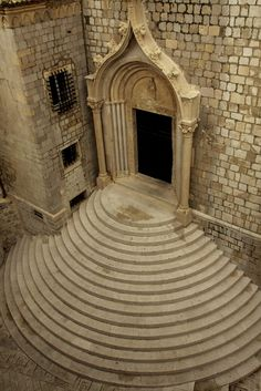 Architecture in Paradise Dominican Monastery Dubrovnik, Croatia Montenegro, Places Around The World, Around The Worlds, Dubrovnik Croatia, Romanesque, Macedonia, Eastern Europe, Slovenia, Art And Architecture