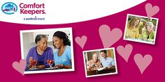 Comfort Keepers #Newsletter - February Healthy #Heart & Care for the #Elderly -  #constantcontact #HappyValentinesDay #MontclairSenior