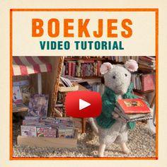 In deze video laat Lili je zien hoe je kleine boekjes maakt. Ze maakt ze op verschillende manieren, ook met behulp van een printable die je hier gratis kan downloaden. Het is hartstikke makkelijk om te doen en het brengt je eigen Muizenhuis tot leven!
