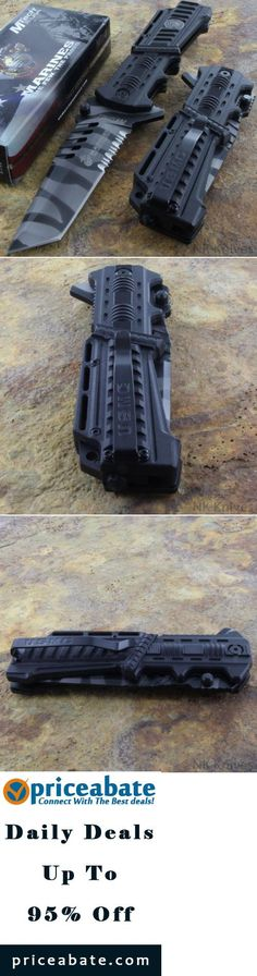 #priceabatedeals MTECH US Marines TANTO BLADE Tactical Survival Rescue Knife Glass Breaker NEW! - Buy This Item Now For Only: $15.99