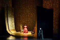 Ernani. Teatro Amilcare Ponchielli. Scenic design by Dario Gessati. 2012