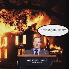 #Perfect! #NothingToSeeHere folks! Just some #FakeNews #ConspiracyTheories from the #DishonestMedia on a #WitchHunt. #WhereTheresSmokeTheresFire #BurningDownTheHouse