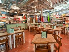 bills produce store- love the farm tables! Cozy- groups or individuals! Whaddaya think?