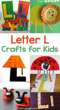 Letter L Crafts for preschool or kindergarten – Fun, easy and educational! Letter L Crafts Letter L Crafts for preschool or kindergarten – Fun, easy and educational! Students will have fun learning and making these fun crafts! Letter L Crafts, Preschool Letter Crafts, Abc Crafts, Alphabet Crafts, Preschool Art, Alphabet Art, Toddler Alphabet, Spanish Alphabet, Preschool Literacy