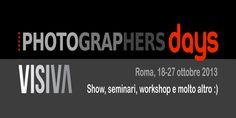 Photographers Days, a ottobre la Roma Edition 2013
