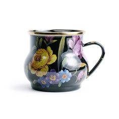 Mackenzie-Childs Enameled Floral Mug ($40)