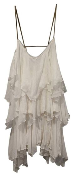 2406387379531 Free People White Above Knee Short Casual Dress Size 8 (M). Free shipping