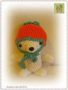 Osito polar  Face Punto Ines - crochet