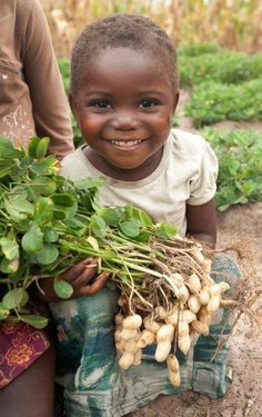 A little girl in The Republic of Zambia