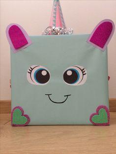 Leuke surprise voor een meisje #unicorn #eenhoorn #suprise