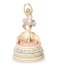 Take a look at this Roman, Inc. Ballerina Music Box by Once Upon a Time: Fanciful Furnishings on #zulily today!