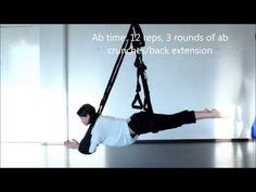 Tummy Tuck Tutorial on the Omni Yoga Swing