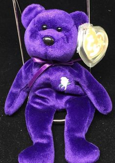 Ty princess diana 1997 very rare beanie baby w errors tags great condition 262e3a278f63