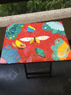 Mesa con Mosaicos
