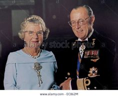 Queen Juliana And Prince Bernhard Of The Netherlands
