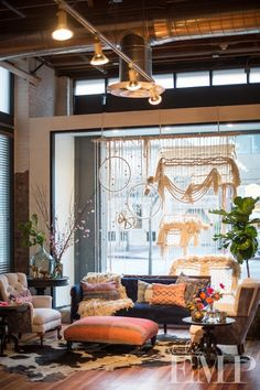Window display at Loft on Pine by Jeni from Found Vintage Rentals and Larissa from Inviting Occasions.  Photography by Studio EMP.