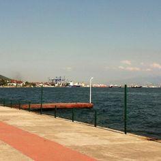 Yalikent- where industry and sea meets- turkey