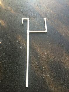 Pvc pool cover holder