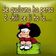 La dieta di Mafalda...bn..km è andata?