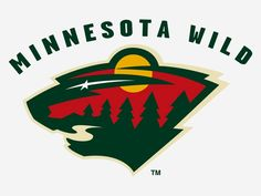 This ice-hockey team's mascot is a nondescript 'wild' animal and their logo is comprised of a moon as it's ear, a river as it's mouth, and a star as it's eye. The previous Minnesota hockey franchise was called the Stars, so that may be a nod to the old team too.