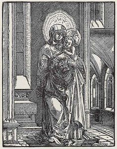 1519 BeautifulMary in theChurch - Albrecht Altdorfer Titulo original: Schöne Maria in der Kirche