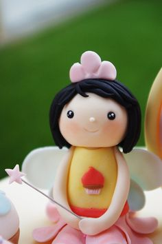 the cupcake fairy by baa baa bake, via Flickr