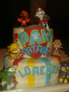 Cake pawpatrol