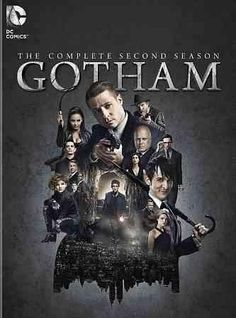 This release collects every episode from season two of GOTHAM, an action-drama series following rookie detective James Gordon (Ben McKenzie) as he battles villains and corruption in pre-Batman Gotham