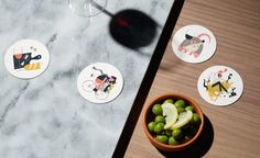 High Street Wine Co. by Conductor Studio http://mindsparklemag.com/design/high-street-wine-co/