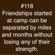 Camp friends quotes