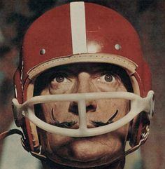 American Football Dalì.