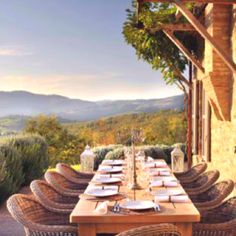 ...dinning...Tuscan villa style.