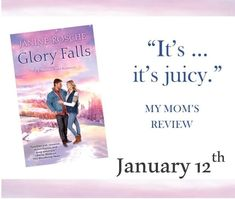 January 12th will be here before you know it! Set up a fun book mail (or book MALE--get it?) surprise for yourself after the lights are taken down and the tinsel is wrapped around your vacuum's roller. #GloryFalls #madisonriverromance #lovewanderread #romancenovels #Faithbook Romance Novels, Good Books, Knowing You, January, Faith, How To Get, River, Lights, Reading