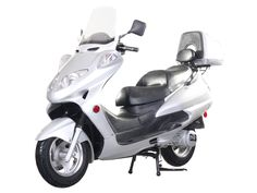 """SCO012 150cc Scooter Automatic Transmission, Front Disc/Rear Drum Brake, 12"""" Wheels, Big Size, Windshield, Rear Trunk $900.00"""