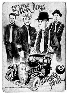 Sick Boys Band - live domenica 1 Settembre 2013