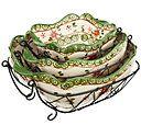Temp-tations Old World 6-pc. Baking & Serving Set — QVC.com - black please